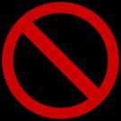 Forbudskilt